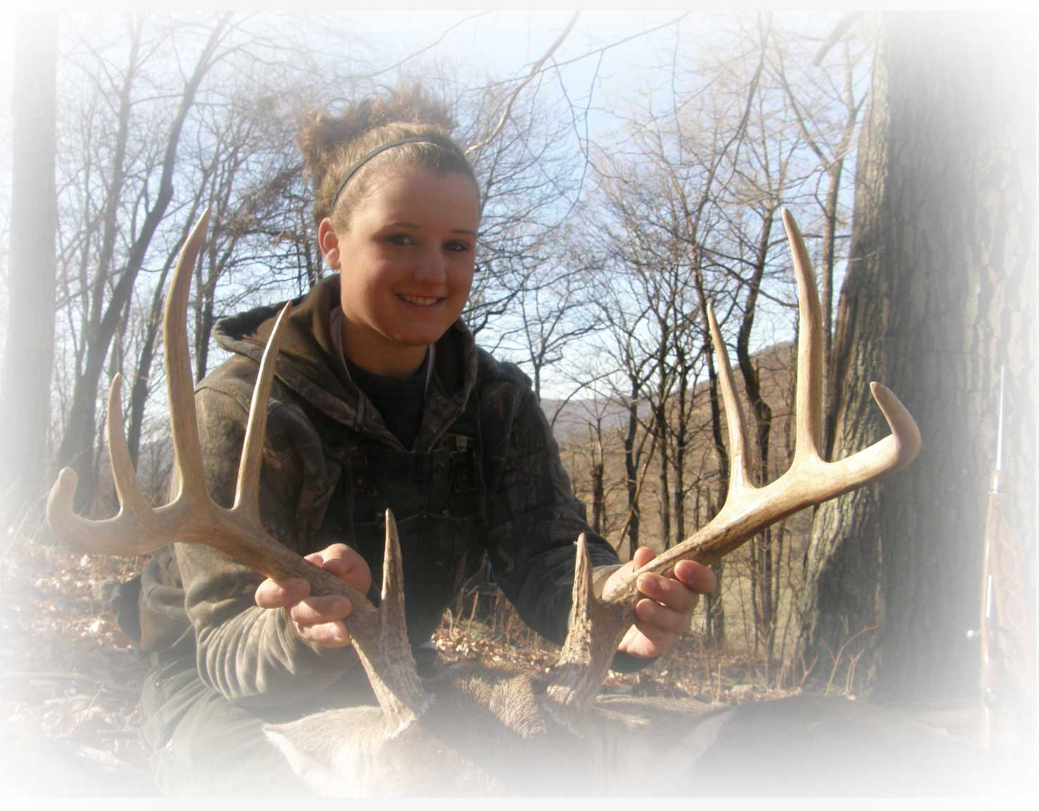 Two year old Whitetail Buck in 2011.